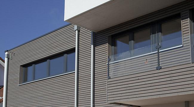Fassadengestaltung Ms Holztechnik Terrassenüberdachungen