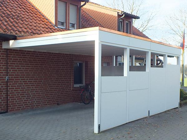 Carports ms holztechnik terrassen berdachungen for Carport angebot