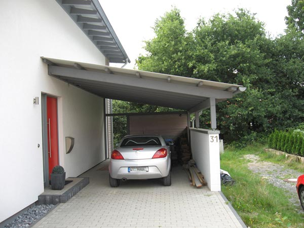 carport am haus angebaut my blog. Black Bedroom Furniture Sets. Home Design Ideas