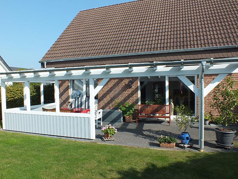 Terrassenuberdachungen Und Eingangsuberdachungen Aus Holz Ms